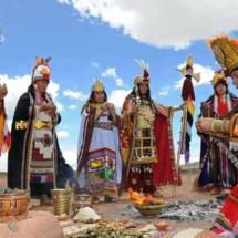 Ceremonial andino - La fiesta del sol